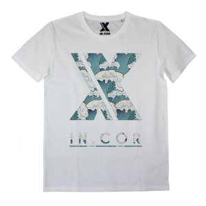 T-shirt IN0003A INCOR LOGO WAVES