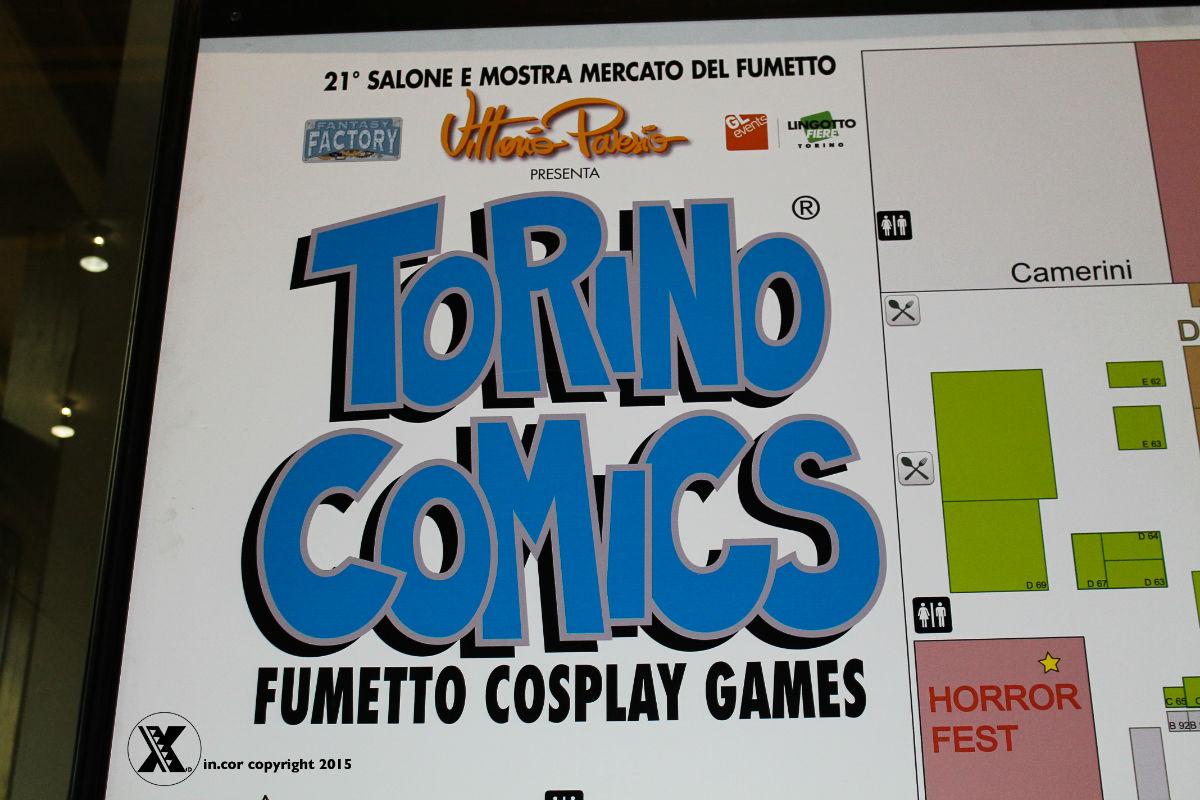 incor goes to Torino comics