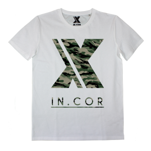 T-shirt IN0000A INCOR LOGO CAMO