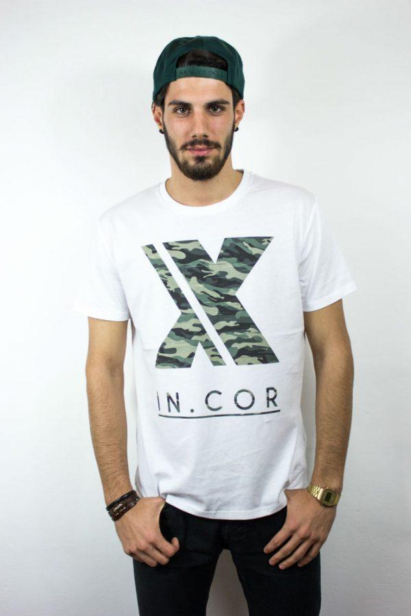 T-shirt IN0000A INCOR LOGO CAMO