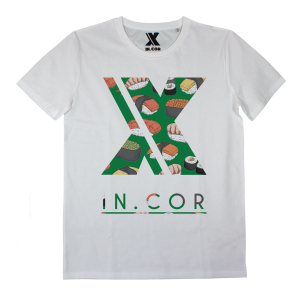 T-shirt IN0001A INCOR LOGO SUSHI
