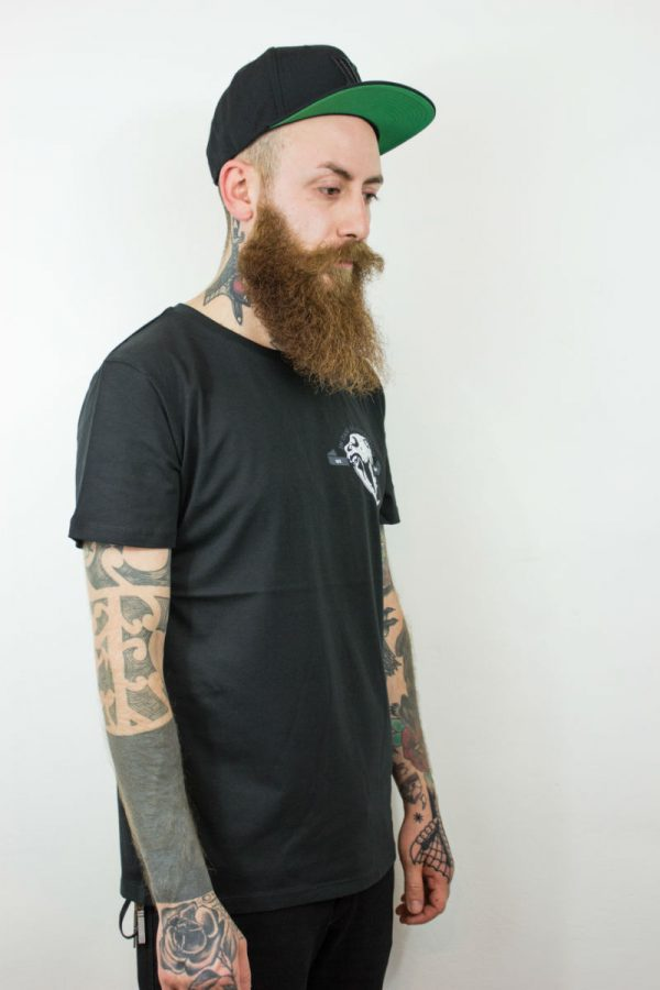 T-shirt IN0030A INCOR Skull