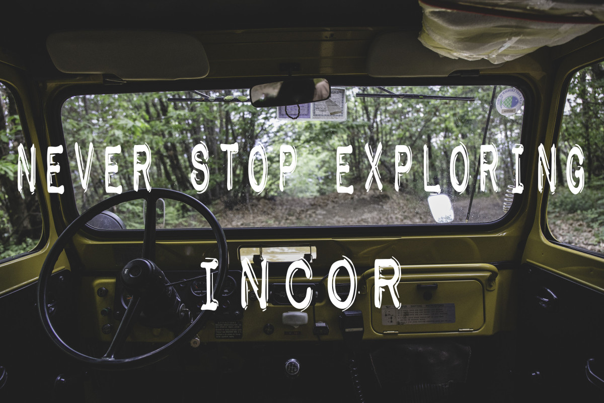 incor never stop exploring