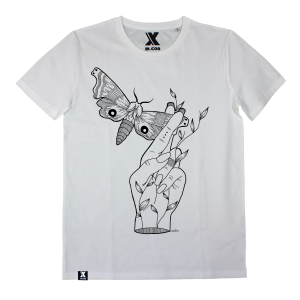 EV003COL MALVA ILLUSTRATION X INCOR moth